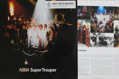 ABBA – Super Trouper  LP Album Reissue Remastered 180 Gram 2001 NM