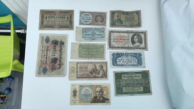 Bankovky Československo a Německé