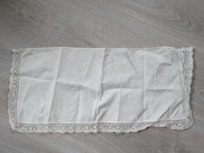 SECESNÍ DEČKA, rozměry 52x23 cm, stáří cca 130 let, viz foto.