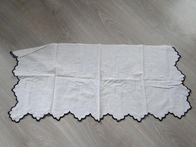 SECESNÍ DEČKA, rozměry 76x32 cm, stáří cca 130 let, viz foto.