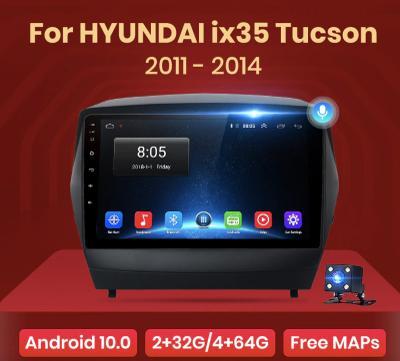 Rádio do Hyundai Tucson 2 ix35, 2DIN ANDROID Autorádio Hyundai ix35