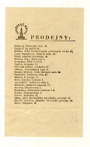 stara UCTENKA Sovetska kniha Praha  adresy: samej Stalin ap  vzacne