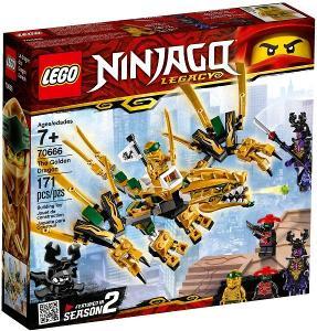 Lego 70666 Ninjago - Zlatý drak