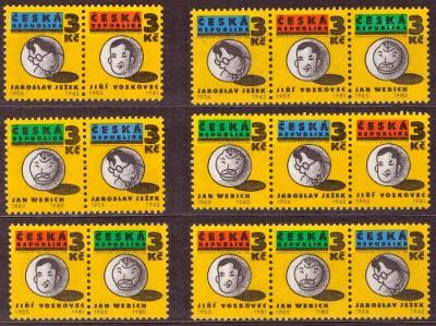 POF. 67-69 - OSVOBOZENÉ DIVADLO, KOMPLETNÍ SOUTISKY, MALÉ PO (S1406)