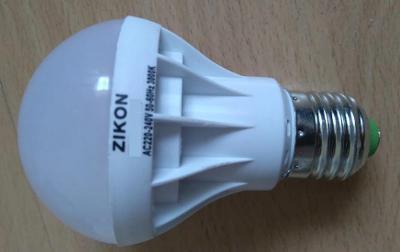 LED žárovka SMD bílá ECO 7W / E14 teplá barva