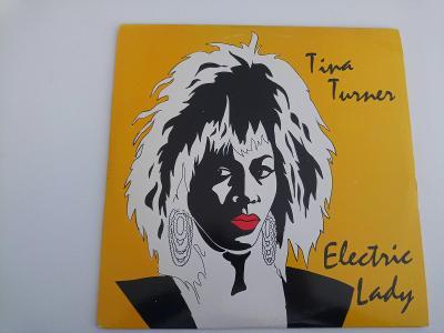 Tina Turner - Electric Lady ⚡ Top Stav - Holland - 1985 - 3LP