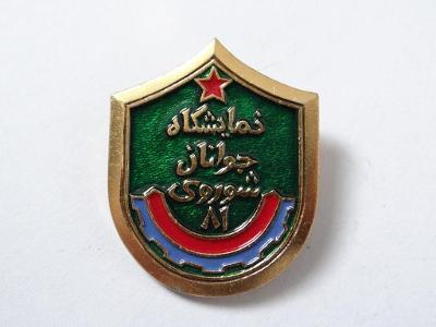 ZAJÍMAVÝ ARABSKÝ ODZNAK, viz foto.