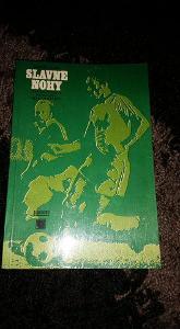 Kniha - Slavné nohy, fotbal