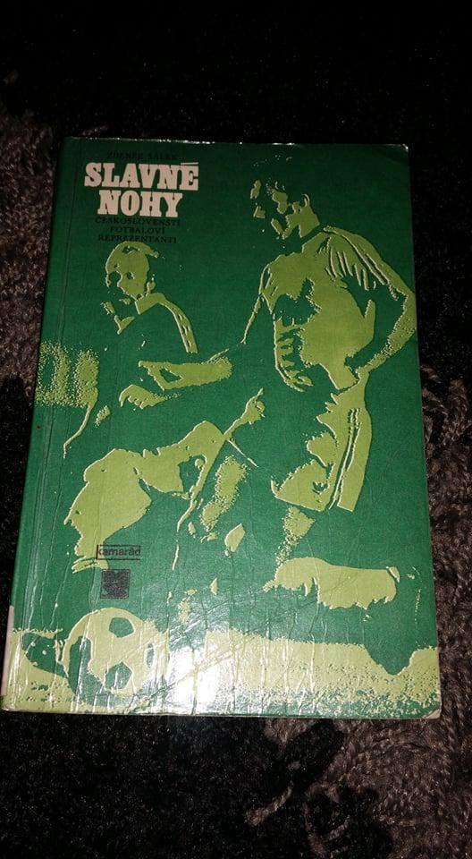 Kniha - Slavné nohy, fotbal - Sportovní sbírky
