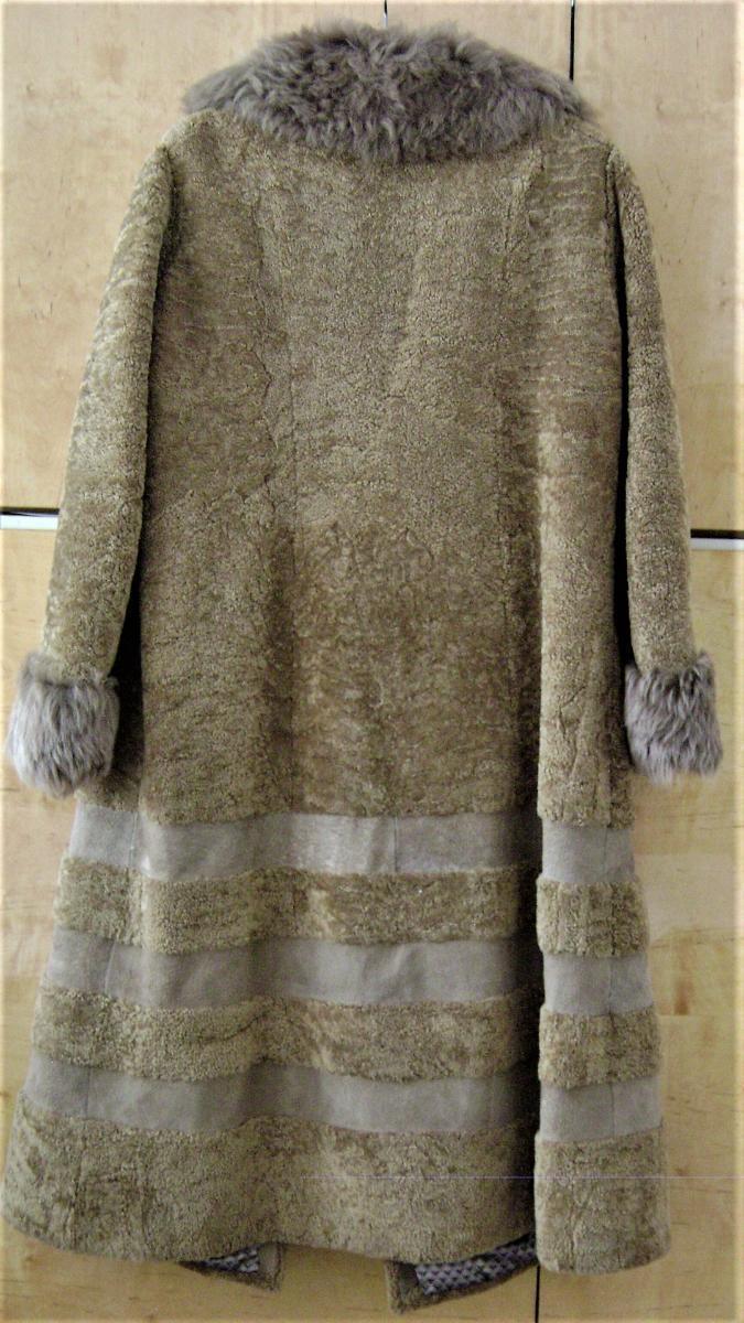 Hezký pravý kožich (beran) - vel. XL - Dámské oblečení