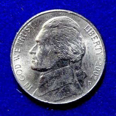 USA – 5 cent – 2002 D – Denver (Collorado)