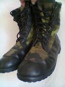 Kanady vojenské  potisky AČR vz 90 maskované  po jehličí,mlok č 9