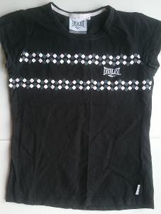 EVERLAST, černé triko, jako NOVÉ