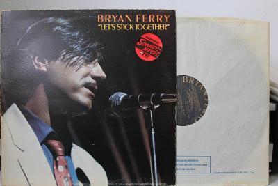 Bryan Ferry – Let's Stick Together LP 1977 vinyl EX Roxy Music top EX