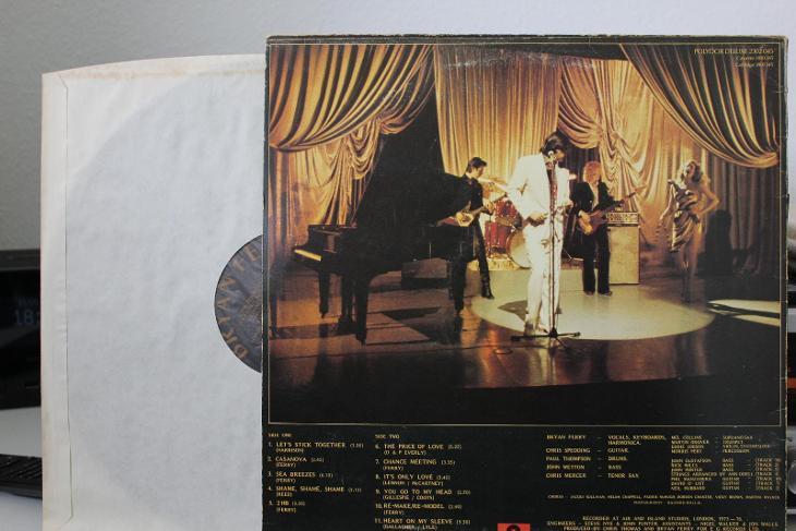 Bryan Ferry – Let's Stick Together LP 1977 vinyl EX Roxy Music top EX - Hudba