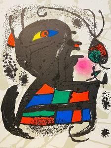 Joan Miró , grafika - litografie