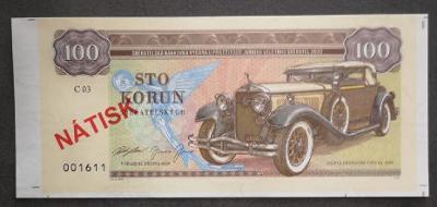 "Aršík Zapadlík - ""Isotta Fraschini Tipo 8A 1929"" UNC ""Gábriš"""