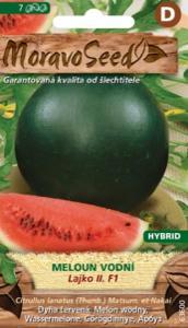 Meloun vodní F1 - hybrid, červený (semena)