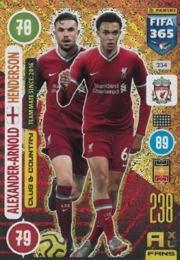 Karta FIFA 365 - 2021: Alexander-Arnold - Henderson
