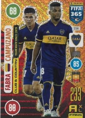 Karta FIFA 365 - 2021: Fabra - Campuzano