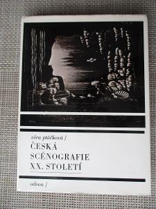 Ptáčková Věra - Česká scénografie XX. století (1. vydání)