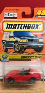 MATCHBOX  ´´ DODGE VIPER RT/10 ´´  2000 - logo na skle