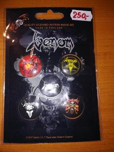 Prodám sběratelskou edici placek/odznaků Venom