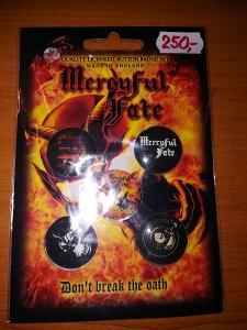 Prodám sběratelskou edici placek/odznaků Mercyful Fate