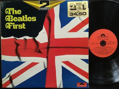THE BEATLES  FIRST - 2LP VG+/VG France