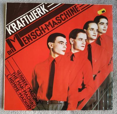 LP KRAFTWERK - MENSCH MASCHINE(1978) 1.GER Press VG++, ZACHOVALÝ STAV!