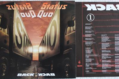 Status Quo – Back To Back LP 1983 vinyl Germany 1.press jako nove NM