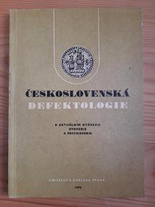 Československá defektologie k akt. otázkám etopedie a psychopedie