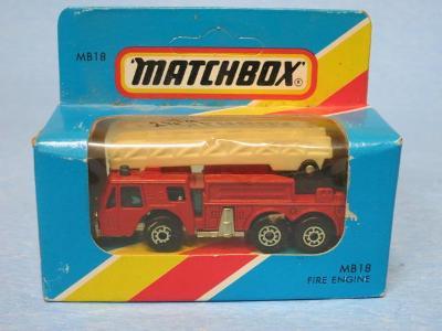 MATCHBOX - FIRE ENGINE