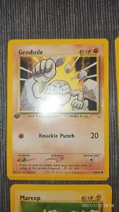 """Pokemon TCG karty originální """"FIRST EDITION"""""""
