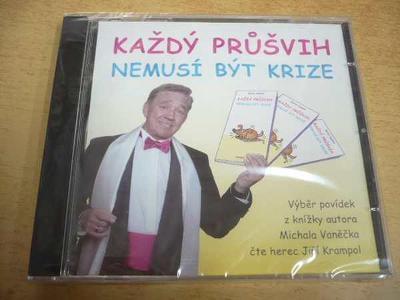 CD Každý průšvih nemusí být krize (M.Vaněček) čte Krampol / NOVÉ