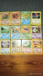 Pokémon TCG karty originální nejstarší edice