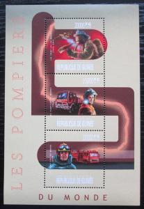 Guinea 2013 Hasiči Mi# 9950-52 Kat 22€ 2272