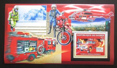 Guinea 2006 Japonští hasiči Mi# Block 1068 2273