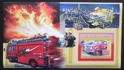 Guinea 2006 Japonští hasiči Mi# Block 1069 2273