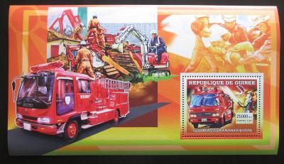 Guinea 2006 Japonští hasiči Mi# Block 1070 2273