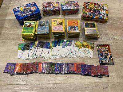 Přes 750 karet Pokemon