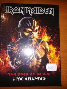 Prodám 2 CD Iron Maiden - The Book Of Soul-Live Chapter