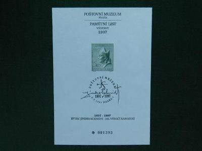 PTM 8 - Sv. Vojtěch - 1997 - Příležitostné Tisky Poštovního Muzea