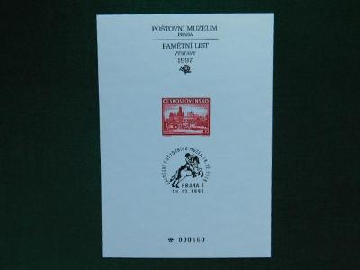 PTM 10 - 79. Výročí zalo - 1997 - Příležitostné Tisky Poštovního Muzea
