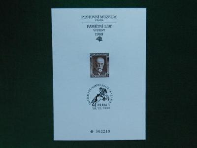 PTM 12 - 80. Výročí Zalo - 1998 - Příležitostné Tisky Poštovního Muzea
