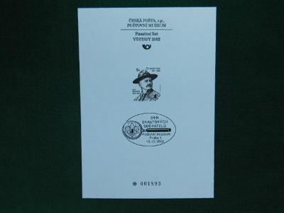 PTM 18 - Den Skautských  - 2002 - Příležitostné Tisky Poštovního Muzea