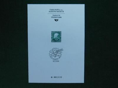 PTM 24 - 86. Výročí Zalo - 2004 - Příležitostné Tisky Poštovního Muzea