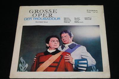 LP - Grosse Oper - Der Troubadour  (d24)