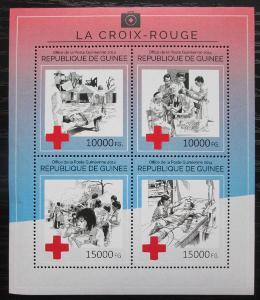 Guinea 2014 Červený kříž Mi# 10637-40 Kat 20€ 2279
