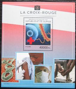 Guinea 2014 Červený kříž Mi# Block 2423 Kat 16€ 2280